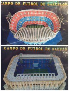 Zaragoza-Ole-Souvenirs.-Campo-futbol-MAdrid-barcelona