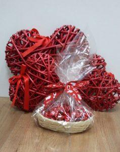 Zaragoza Olé Souvenirs - Cestita dulce frutas de aragón-Concurso de San Valentín