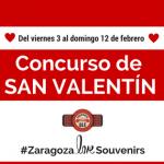 Zaragoza Olé Souvenirs - concurso de San Valentín