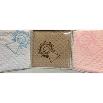 Baby blankets embroidered with Virgin Pilar