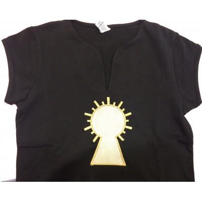 Camiseta señora Virgen Dorada