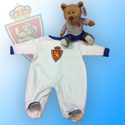 Bebe zaragocista - Pijama Real Zaragoza