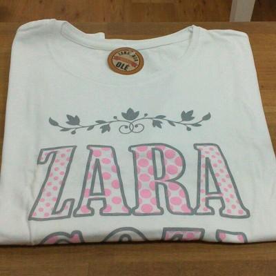 Camiseta Zaragoza a topos