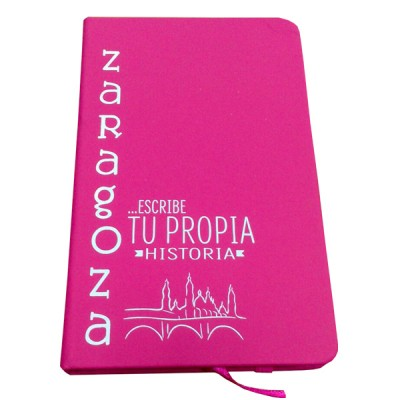 Libreta con hojas de Zaragoza
