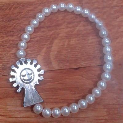Pulsera de Perlas (plata)