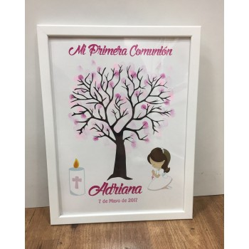 LIBRO DE HUELLAS PRIMERA COMUNION