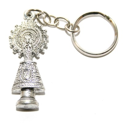 VIRGEN DEL PILAR KEY RING WITH MANTLE